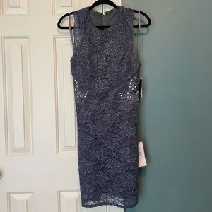 Party Dress Charcoal NWT